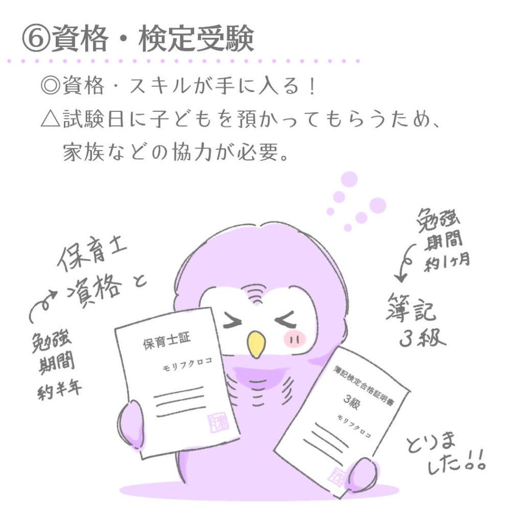 ⑥資格・検定受験