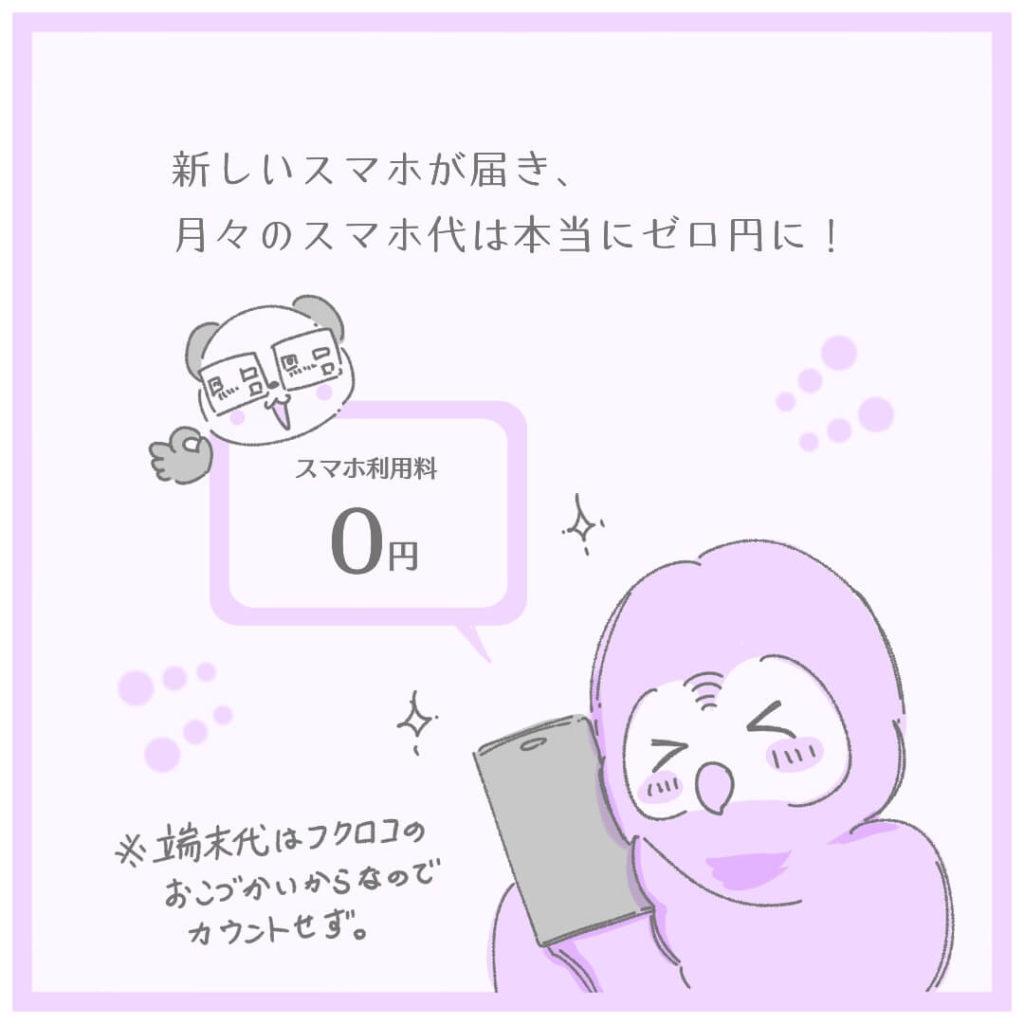 月々のスマホ代ゼロ円!!