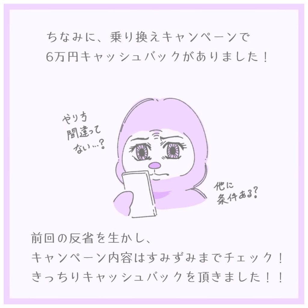 6万円キャッシュバックキャンペーン